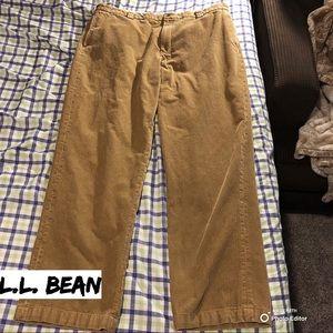 LL Bean Corduroy Pants